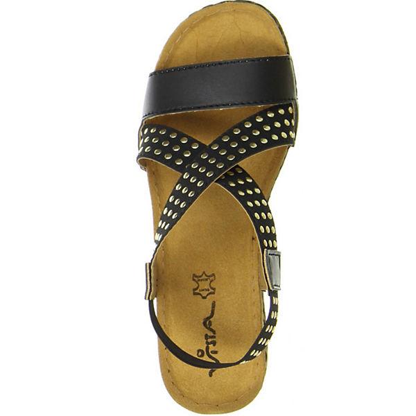 Vista Vista Sandaletten Vista schwarz Klassische schwarz Sandaletten Klassische PgTxgEI