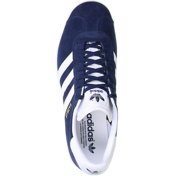 Low adidas BB5478 blau GAZELLE Sneakers Originals ZIqwrRIE