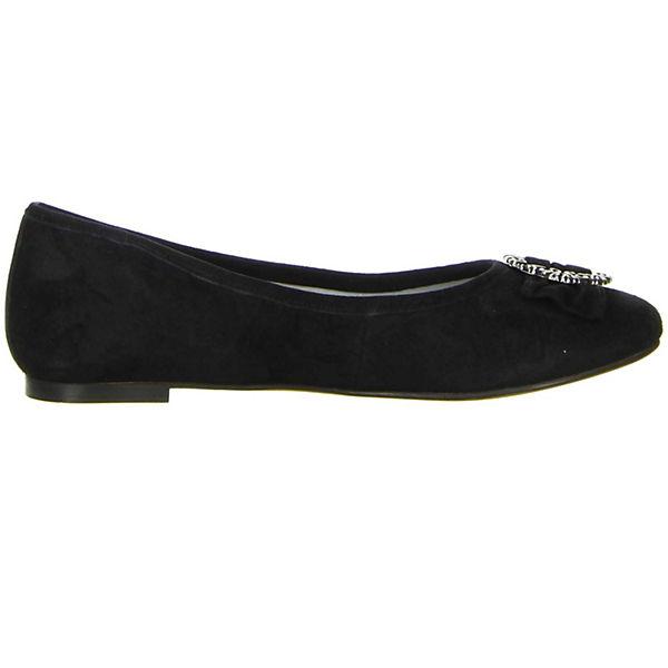 Vista, Klassische Gute Ballerinas, schwarz  Gute Klassische Qualität beliebte Schuhe eb3d24