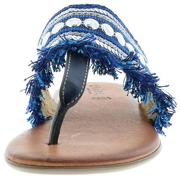 Vista, Dianetten Zehentrenner, blau Schuhe  Gute Qualität beliebte Schuhe blau ece9b8