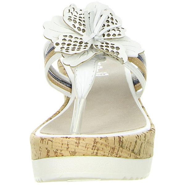 Vista, Plateau-Pantoletten, weiß  Gute Schuhe Qualität beliebte Schuhe Gute b8d740