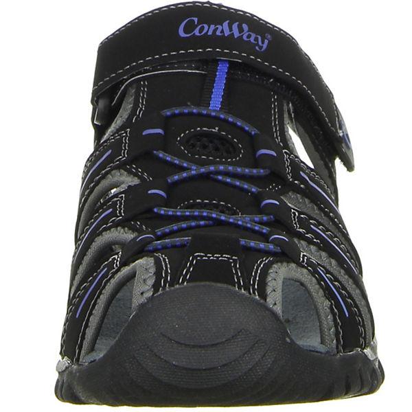 ConWay Outdoorsandalen beliebte schwarz  Gute Qualität beliebte Outdoorsandalen Schuhe 4058f7