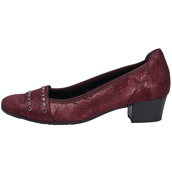 Gabor, Komfort-Pumps, rot  Gute Schuhe Qualität beliebte Schuhe Gute 02793d