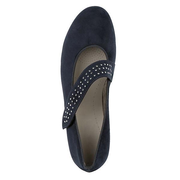 JENNY, Spangenpumps, blau  Gute Schuhe Qualität beliebte Schuhe Gute 828c3c