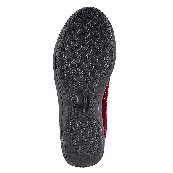 Vamos,  Komfort-Ballerinas, rot  Vamos, Gute Qualität beliebte Schuhe 0e4710
