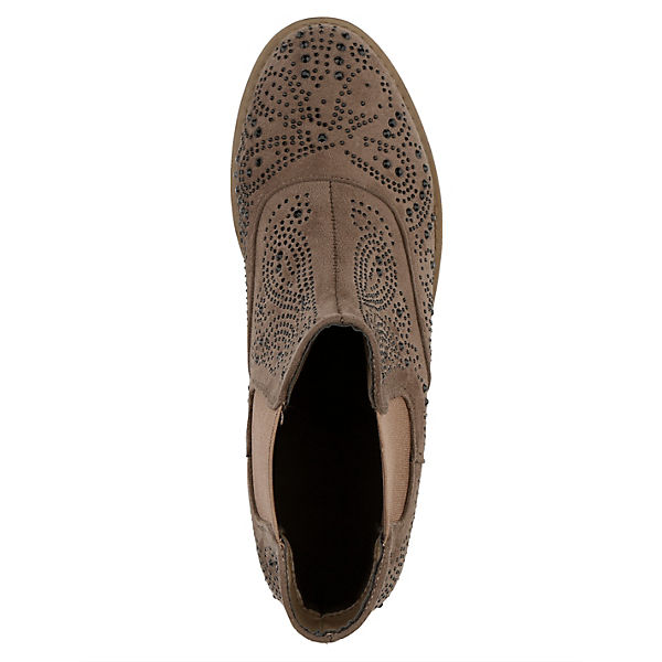 Liva Loop, Chelsea Boots, taupe