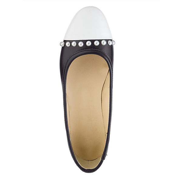 KLiNGEL Komfort-Pumps weiß-kombi  Gute Qualität beliebte Schuhe