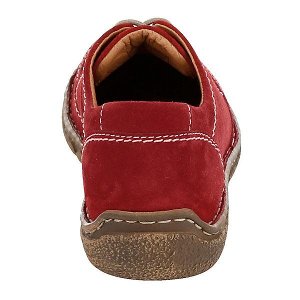 Josef Sneakers Seibel Seibel rot Low Josef Josef Sneakers Low rot Seibel qRPAwAt46