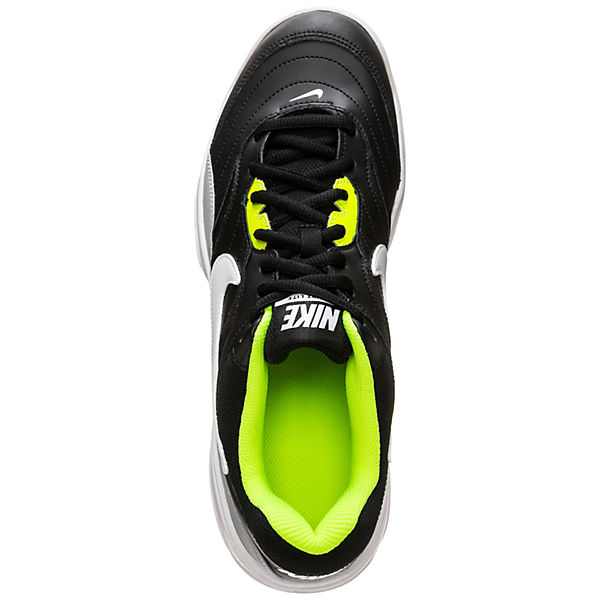 NIKE, Court Lite Qualität Tennisschuhe, schwarz/gelb  Gute Qualität Lite beliebte Schuhe 6a5578