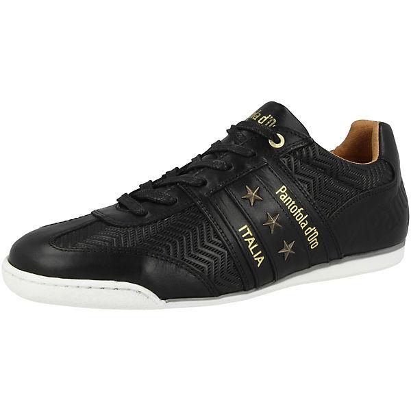 Imola Pantofola Low Low Sneakers Ligna schwarz Uomo d'Oro UxqwTR5f