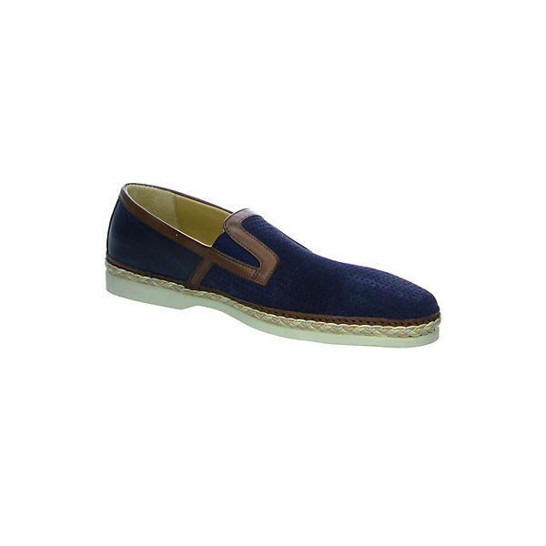 Galizio Torresi Klassische  Slipper blau  Klassische Gute Qualität beliebte Schuhe 5a1813