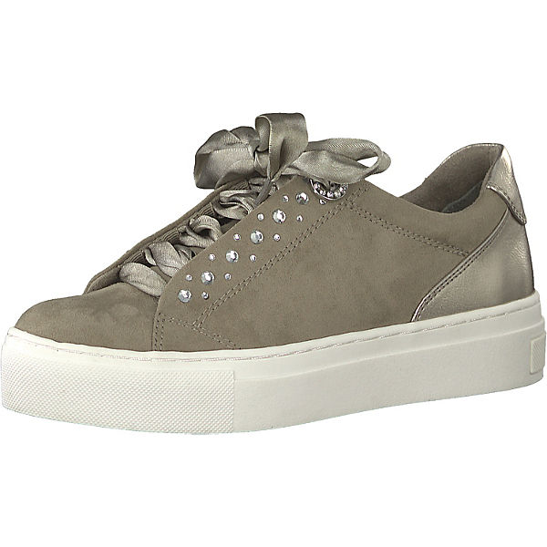 cheap for sale best price retail prices MARCO TOZZI, Sneakers Low, dunkelgrau
