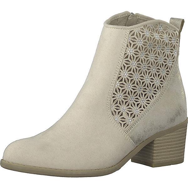 separation shoes 7e641 3ce9d MARCO TOZZI, Sommerstiefeletten, grau/braun