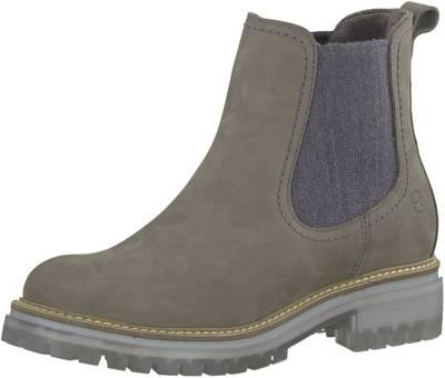 Tamaris, Chelsea Boots, graubraun