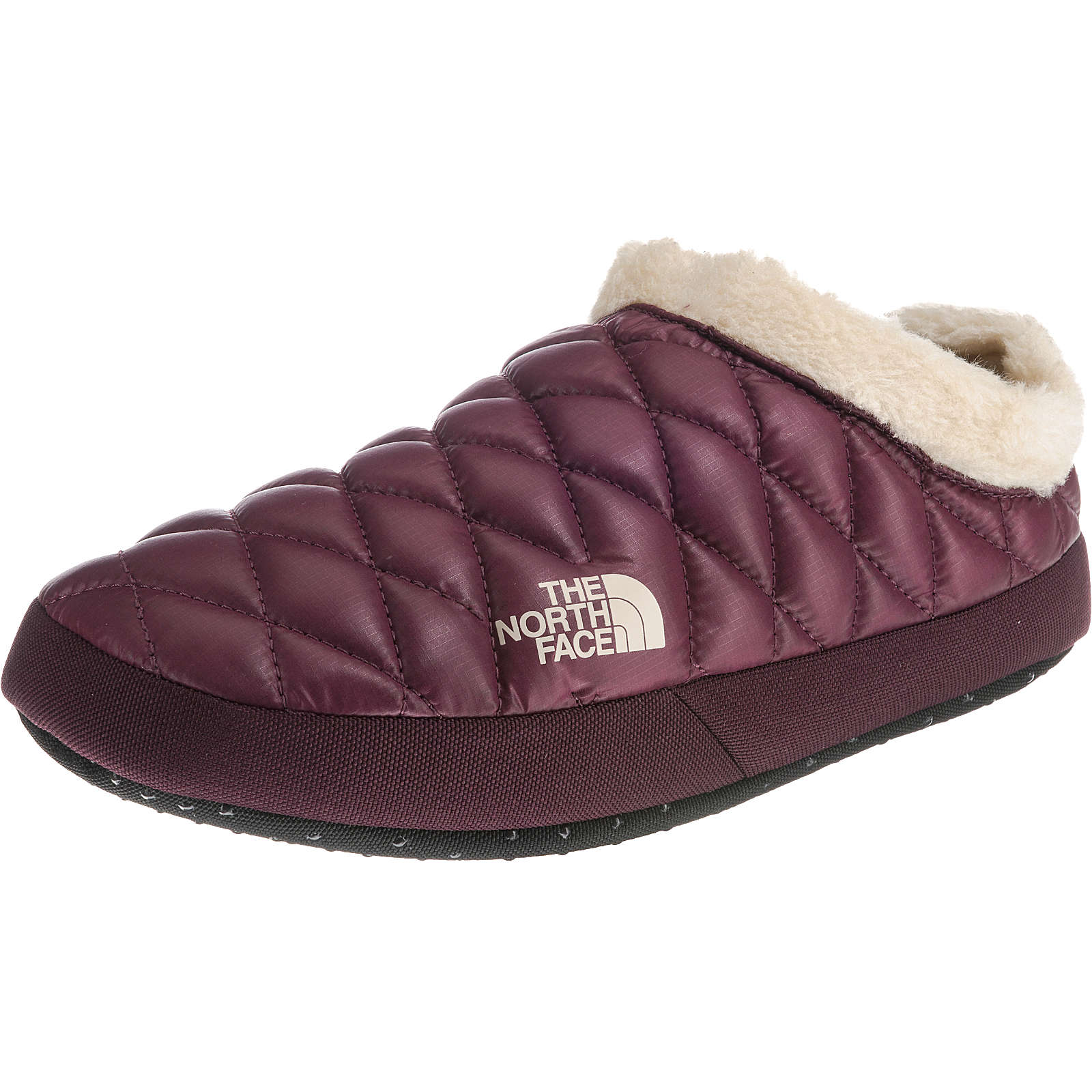 THE NORTH FACE Women's ThermoBall™ Tent Mule Faux Fur IV Hüttenschuhe aubergine Damen Gr. 37