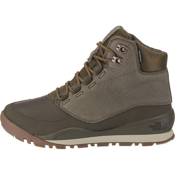 THE NORTH Schnürstiefeletten, FACE, Men's Edgewood 7DOUBLE_RIGHT_QUOTE Schnürstiefeletten, NORTH khaki  Gute Qualität beliebte Schuhe d35b57