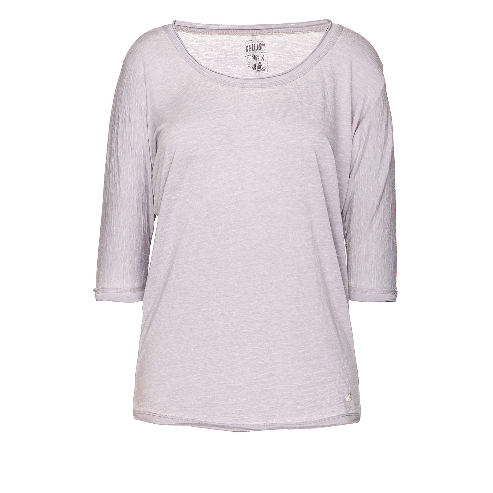 Khujo T-Shirt grau Damen Gr. 36