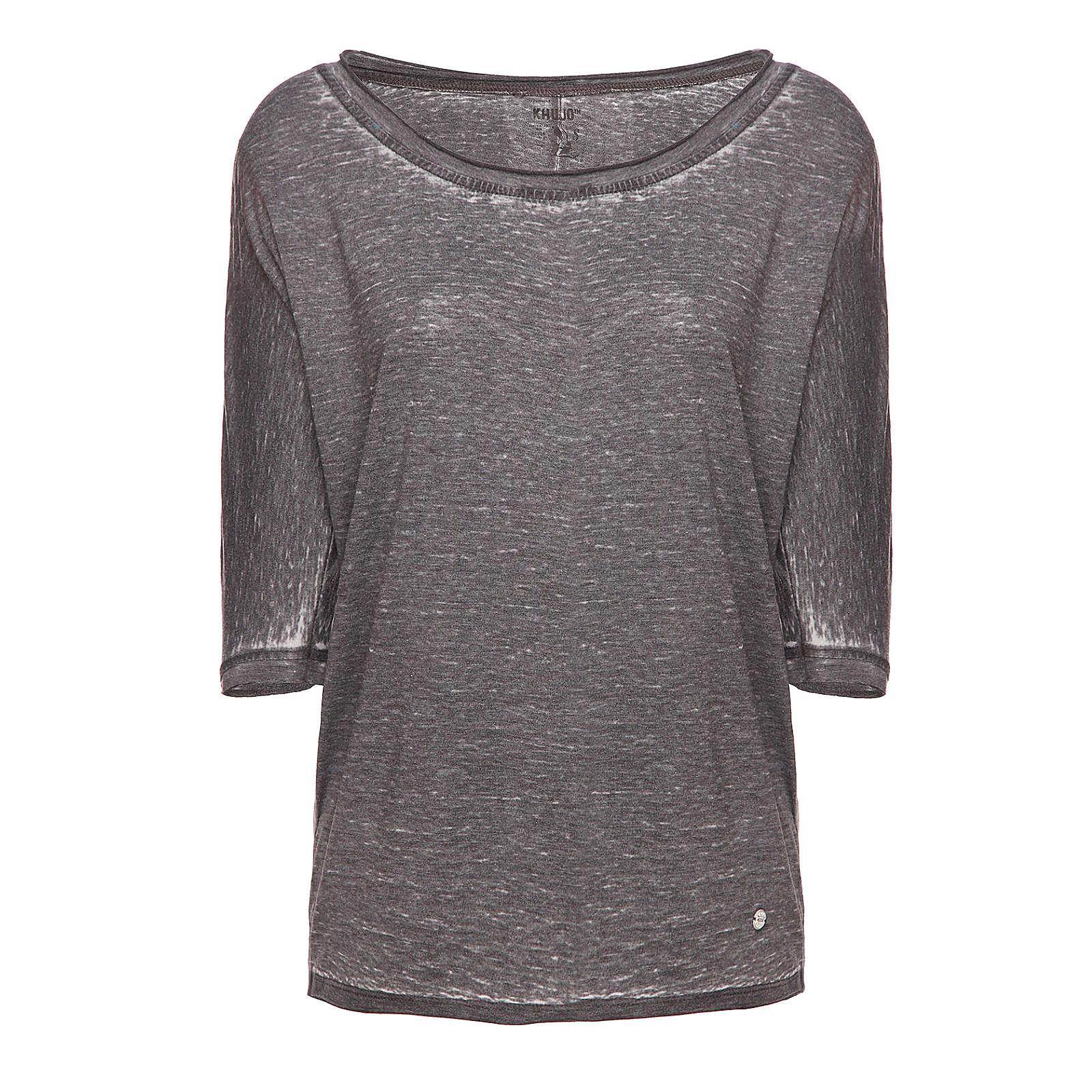 Khujo T-Shirt schwarz Damen Gr. 38