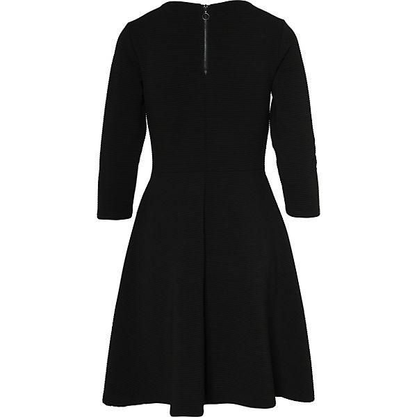 TAILOR Jerseykleid TAILOR Jerseykleid Denim TOM TOM TOM Jerseykleid schwarz Denim TOM schwarz TAILOR TAILOR schwarz Denim xACcqwHg