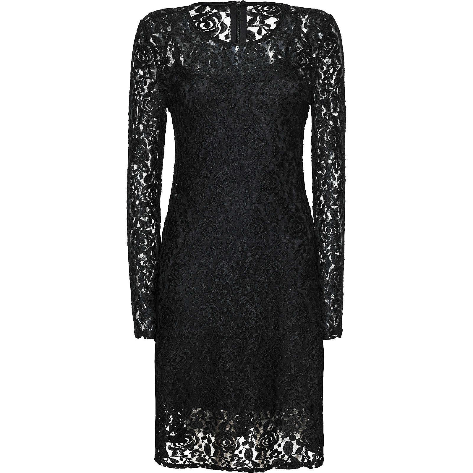 VERO MODA VMTAMMI LS ABK DRESS - Kleider* - weiblich schwarz Damen Gr. 40