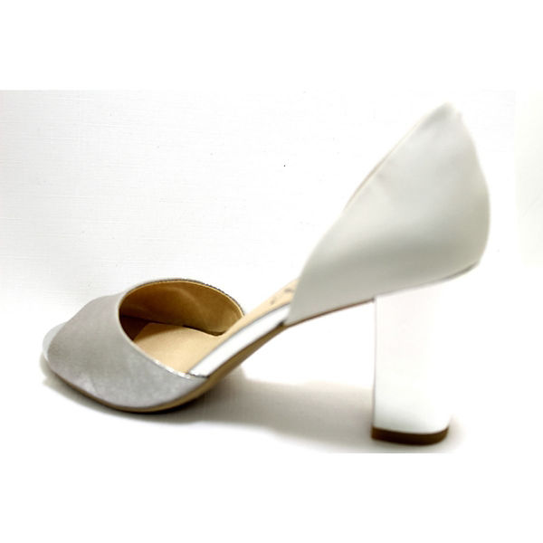 CAPRICE, Peeptoe-Pumps, weiß Schuhe  Gute Qualität beliebte Schuhe weiß 0c72f4