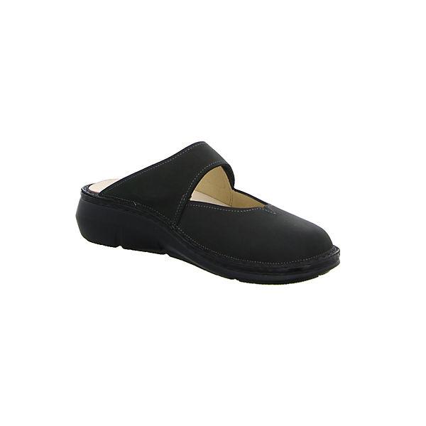 Finn Comfort, Sabots, schwarz Schuhe  Gute Qualität beliebte Schuhe schwarz ef30a3