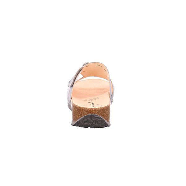 Think! Pantoletten beliebte grau  Gute Qualität beliebte Pantoletten Schuhe 6f174b
