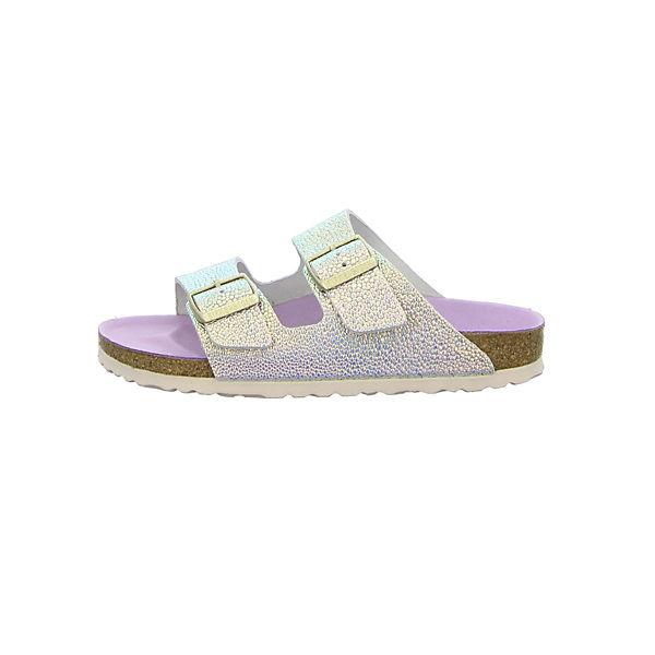 BIRKENSTOCK Komfort-Pantoletten rosa/weiß  beliebte Gute Qualität beliebte  Schuhe ed4498
