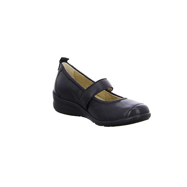 Fidelio, Schnallenballerinas, schwarz  Gute Qualität Qualität Qualität beliebte Schuhe 1fc6f3