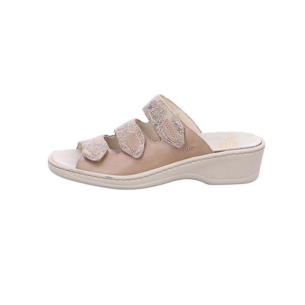 Fidelio, Komfort-Pantoletten, beige  Gute Qualität beliebte Schuhe