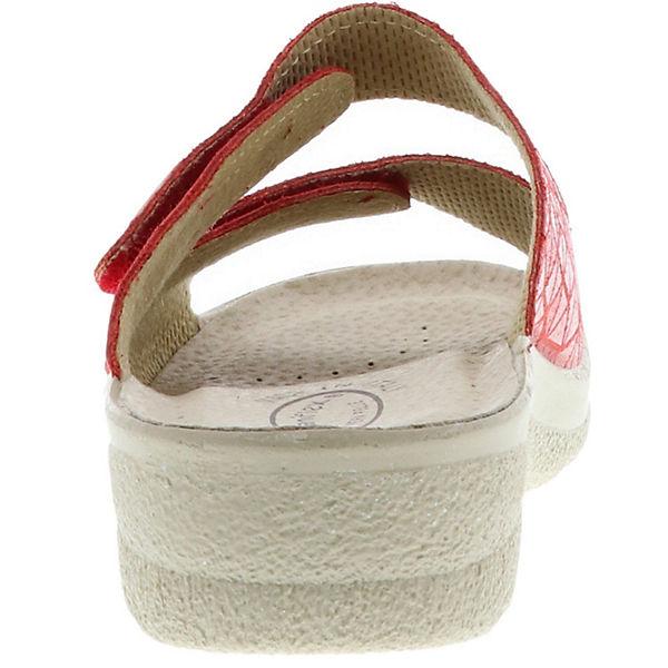 Saniflex, Pantoletten, rot  Gute Qualität beliebte Schuhe