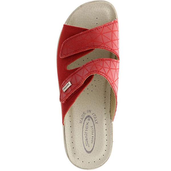 Saniflex, Pantoletten, rot  Gute Schuhe Qualität beliebte Schuhe Gute d15fed