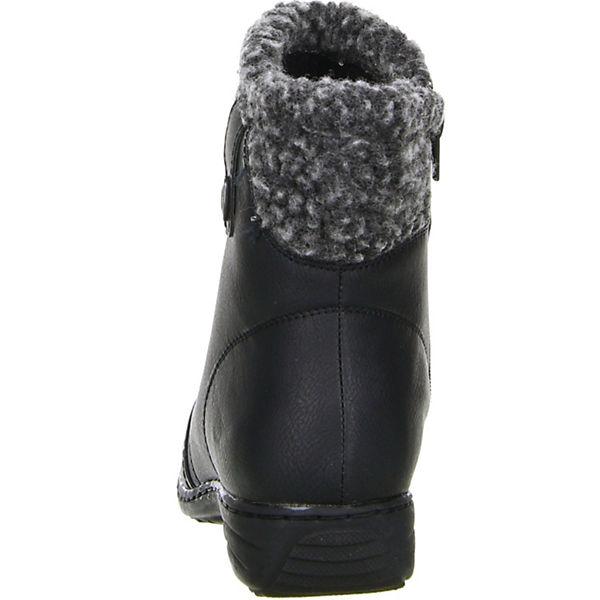 TOPWAY, Gute Klassische Stiefeletten, schwarz  Gute TOPWAY, Qualität beliebte Schuhe fd6545