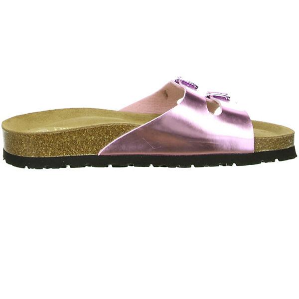 LINDENZWEIG,  Komfort-Pantoletten, rosa  LINDENZWEIG, Gute Qualität beliebte Schuhe b2f4a2
