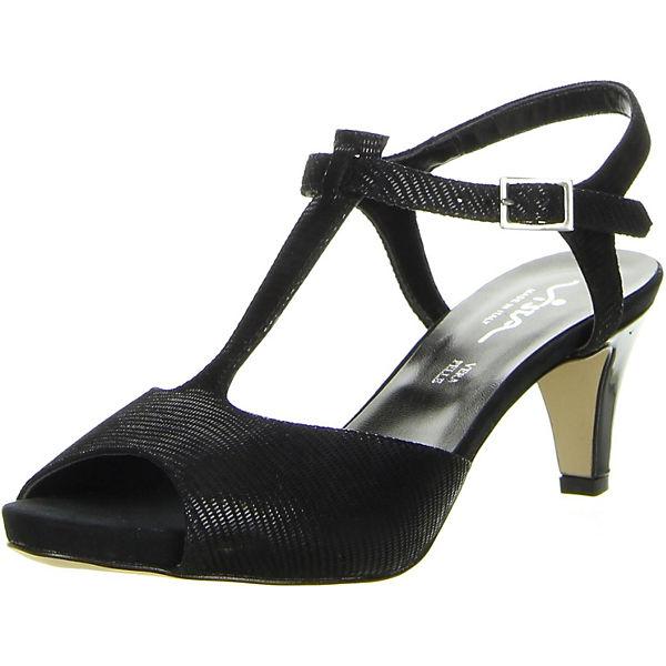 Sandaletten Steg Vista Vista T Sandaletten T schwarz Steg schwarz wPFCSqFx0