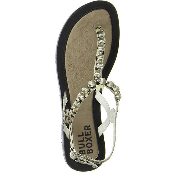 BULLBOXER, Qualität Zehentrenner, schwarz  Gute Qualität BULLBOXER, beliebte Schuhe 9087fe