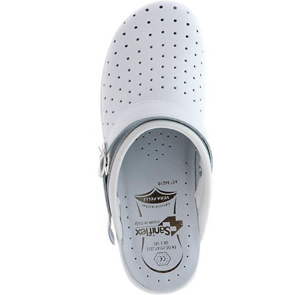 Saniflex, Qualität Clogs, weiß  Gute Qualität Saniflex, beliebte Schuhe e59d13
