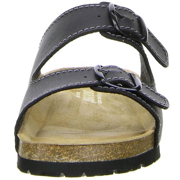 LINDENZWEIG, Komfort-Pantoletten, Komfort-Pantoletten, Komfort-Pantoletten, schwarz   c40c5f