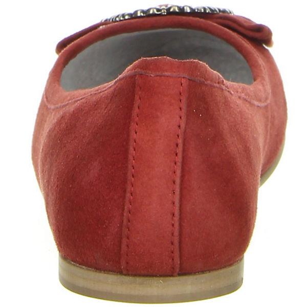 Bergheimer Trachtenschuhe Klassische Qualität Ballerinas rot  Gute Qualität Klassische beliebte Schuhe 77448d