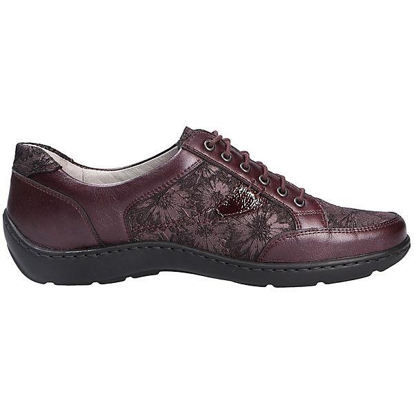WALDLÄUFER, Komfort-Halbschuhe, rot Schuhe  Gute Qualität beliebte Schuhe rot 4f1695