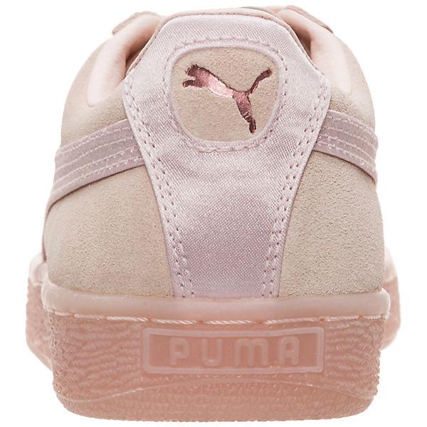 PUMA, Suede Classic Satin, beige  Gute Qualität beliebte Schuhe