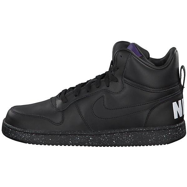 Nike Sportswear, Court Borough MID SE mit gepolstertem Schuhkragen 916759-100, schwarz/weiß
