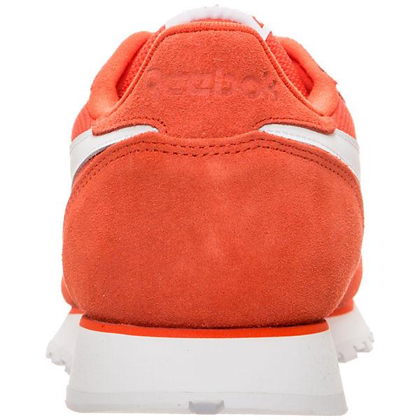 Reebok Classic, Classic Leather MU, orange/weiß  Gute Qualität beliebte Schuhe