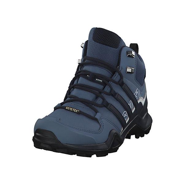 adidas Performance TERREX SWIFT R2 MID GTX CM7651 für alpines Gelände dunkelblau