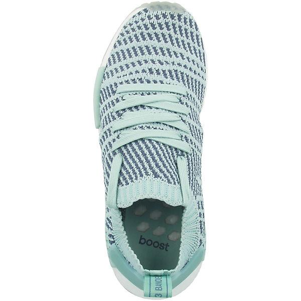 adidas Primeknit Originals STLT R1 türkis NMD T1qw0T