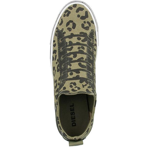 DIESEL, S-Diesel  Imaginee Low Slip-On, grün  S-Diesel Gute Qualität beliebte Schuhe 978cb1