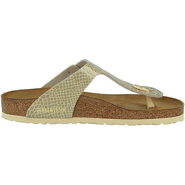 BIRKENSTOCK,  Gizeh Birko-Flor normal, gold  BIRKENSTOCK, Gute Qualität beliebte Schuhe 11dbff