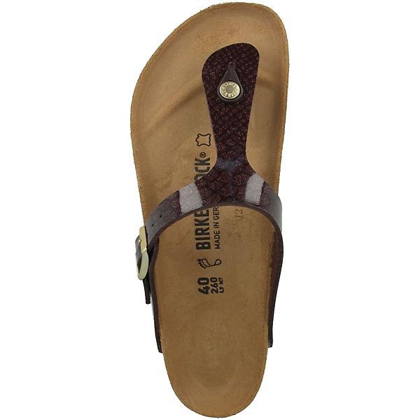 BIRKENSTOCK, Gizeh Gute Birko-Flor normal, braun  Gute Gizeh Qualität beliebte Schuhe c12250