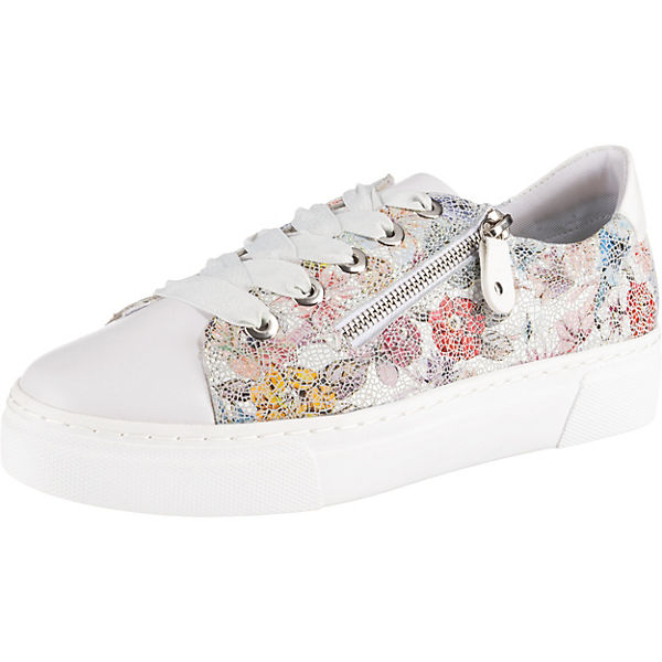 newest 7d66b 870e2 remonte, Sneakers Low, weiß-kombi