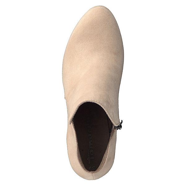 Tamaris,  1-25316-21 521 mit TOUCH-IT Sohle Ankle Boots, beige  Tamaris, Gute Qualität beliebte Schuhe 50d142